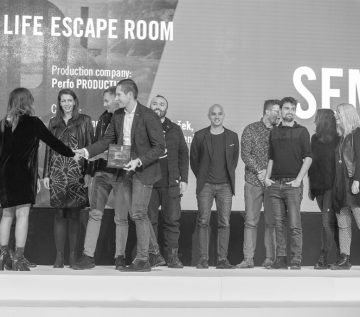 "The Grand Sempler goes to ""The Real Life Escape Room"" by UNICEF Slovenia and Agencija 101"