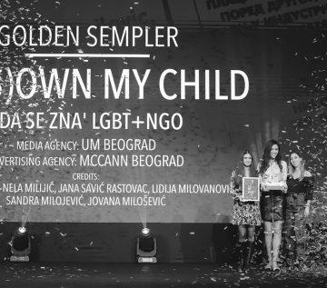 Veliki sempler projektu  »Ne odrekam se svojemu otroku«